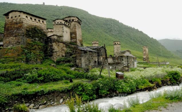 keliavimas į Kaukazą