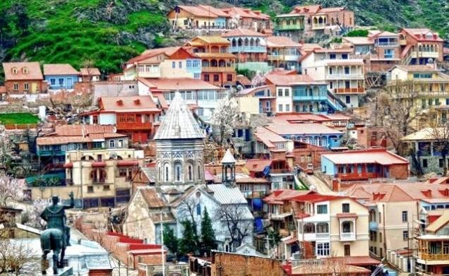 Tbilisi Tskneti Mountain Villa Tbilisi City Georgia: Georgian Holidays